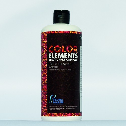 Fauna Marin Color Elements Red Purple Complex