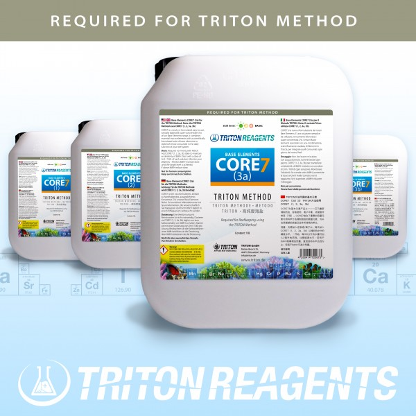 Triton Core7 Bulk Liquid SET Core7 Base Elements 4x5Liter (flüssig) für TRITON Methode
