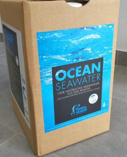 Fauna Marin Ocean Seawater 100% natürliches Meerwasser aus dem Atlantik